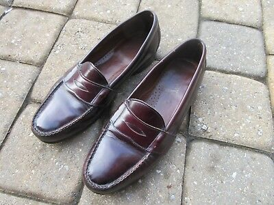 Bostonian Penny Loafers USA made Men's Shoes 10 D