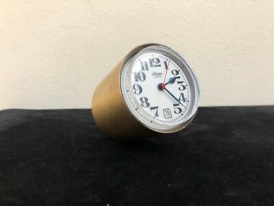 Tischuhr Lorenz static Kompasse Ricard Sapper 1959 table clock