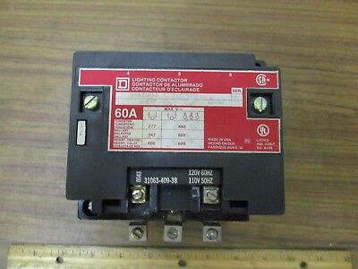 Square D Lighting Contactor 8903SP02 **USED** as pictured