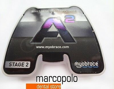 Dispositivo ortodontico dentale funzionale Myobrace A2 A3 orthodontic appliances