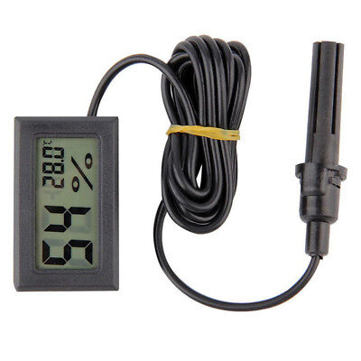 Mini Digital Temperature Humidity Meter Gauge Thermometer Hygrometer LCD Pocket