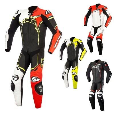 Alpinestars GP Plus Mens Leather Street Riding One Piece Motorcycle Race Suit