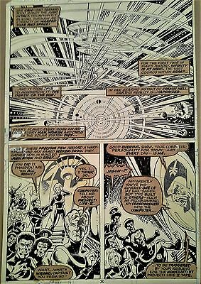 Tom Sutton Original Art - Marvel Premiere #41 - Bronze Age Marvel Classic!
