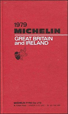 Michelin Red Guide: Great Britain and Ireland, 1979 Hardback Book The Fast Free