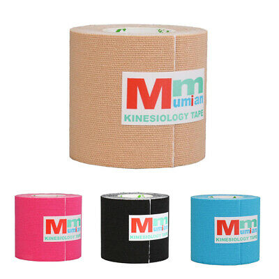 Athletic Sports Waterproof Uncut Muscle Support Kinesiology Tape Strips Roll