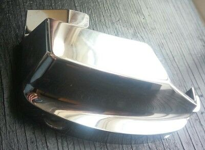 2001 Honda 750 Shadow VT750 Left Plastic Chrome Cover for Front Cylinder Head