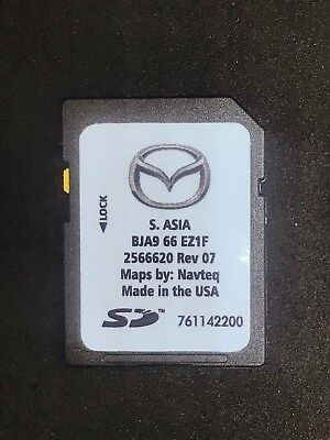 Mazda Navigation South Asia BJA9 66 EZ1F mazda 2 3 6 mx-5 cx-3 cx-5 cx-9
