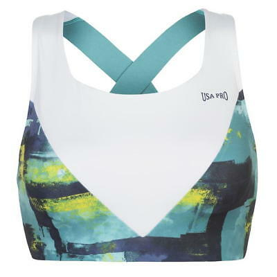 USA Pro Little Mix Perrie V Sports Bra Ladies size 6