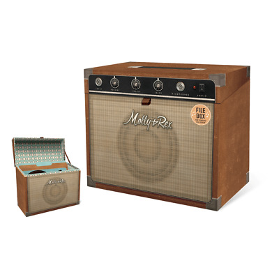 Punch Studio E8 Molly & Rex File Storage Box - Yesteryear Amplifier 34230