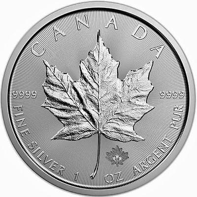 2018 $5 1 Oz Canadian Silver Maple Leaf Coin Brilliant Uncirculated .9999 Fine