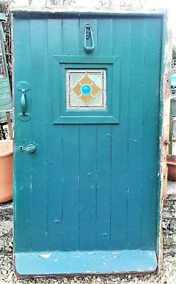 Antique cottage front door for upcycling. REDUCED PRICE