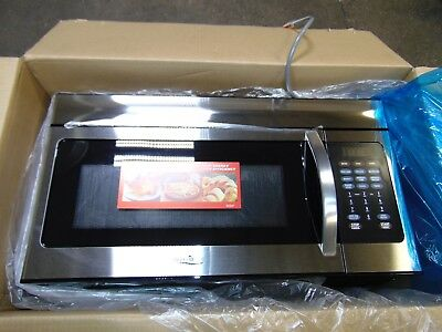 Stainless Steel High Pointe Over The Range Convection Microwave Oven Rv Camper