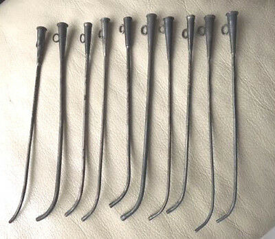 Antique Medical Instruments  Lot of 10 Sterling