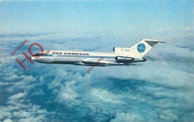 Picture Postcard; PAN AMERICAN BOEING 727 [AIRLINE ISSUE]
