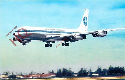 Picture Postcard::PAN AMERICAN BOEING 707-321 [AVC]