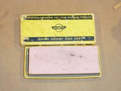 Vintage Pacific Grinding Wheel Co Sharpening Stone in The Box Marysville WA
