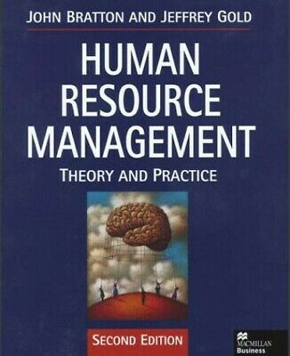 Human Resource Management 2nd ed by Gold, Jeffrey Paperback Book The Cheap Fast