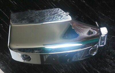 2001 Honda 750 Shadow VT750 Right Plastic Chrome Cover for Rear Cylinder Head