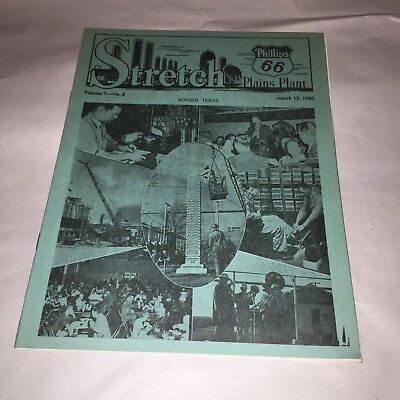 Stretch Phillips 66 Plains Plant Monthly News Borger , Texas  March 15, 1950