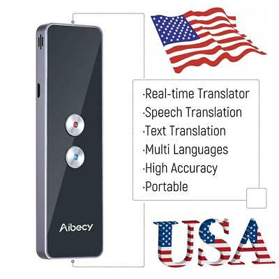 Easy Trans Smart Language Translator Instant Voice Speech Bluetooth 30 Languages