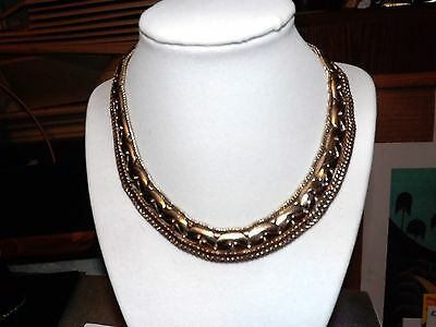 "EXCEPTIONAL CLEOPATRA STYLE COLLAR NECKLACE ""exquisite detail"""