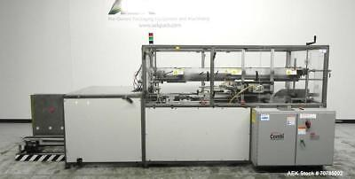 Used- Combi Packaging Systems Model SCE Servo Case Erector capable of speeds up