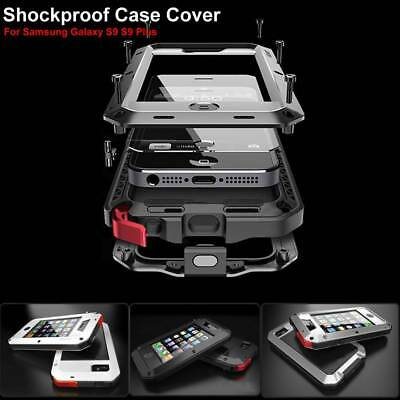 Shockproof Waterproof Aluminum Metal Case Cover For Samsung Galaxy S9 S8 Plus AU