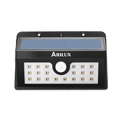 arilux??AL-SL05 wireless Solar 20 LED wasserdicht PIR motion Sensor draussen