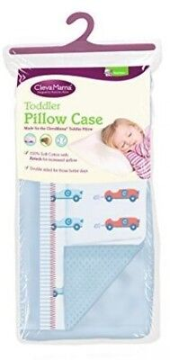 Clevamama Blue Toddler Pillow Replacement Spare Case