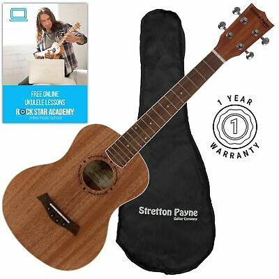 Stretton Payne Tenor Ukulele with Gig Bag and Online Lessons