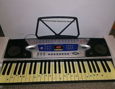Mk 2000 54 Key Portable Keyboard By Gear4music With Mic And Box Eur 58 04 Picclick Fr