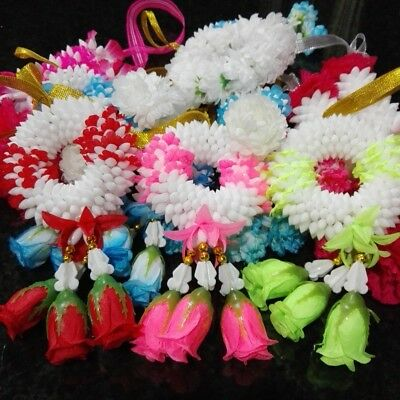 Garland jasmine Plastic Flowers bunch different styles Thai Artificial Hanging