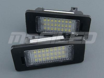 2 Plafones matricula LED para Volkswagen Golf 6 Passat Variant Golf Plus Touran