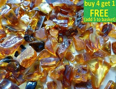 Lovely Baltic Genuine Amber Raw or Polished Stones Natur Bernstein 10-50g Choose