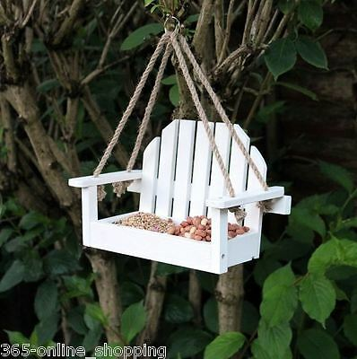 Wooden Timber Bird Table Wall Fence Mounted Available In 5