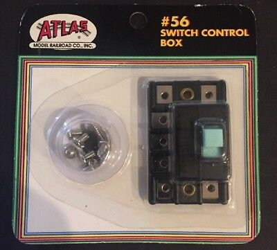ATLAS Model Railroad Switch Control Box #56 **NEW SEALED**