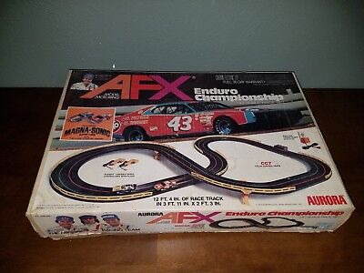 Vintage AFX Enduro Champion Racing Set Rare limited production