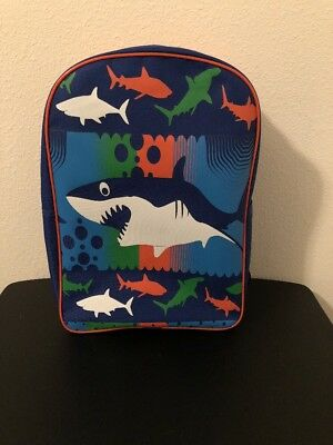 Shark Backpack Blue Great White Hammerhead