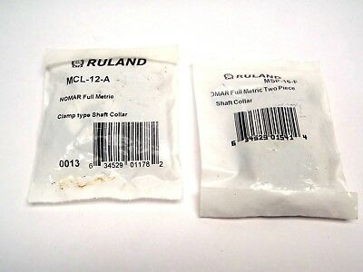 RULAND MANUFACTURING Shaft Collar,Clamp,1Pc,7mm,Steel MCL-7-F