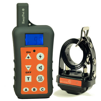 EASYPET 1200M Waterproof Remote Dog Training Shock Collar No Bark Dog EP-380R