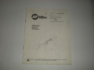 Miller Msw-41, Msw-42, Lmsw-52 Service Parts Manual July 1991