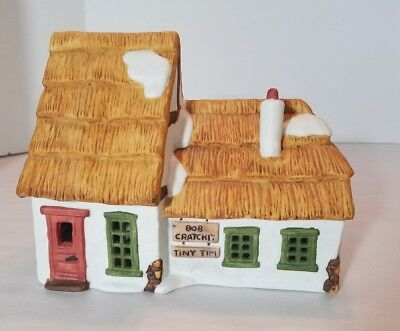 Dept 56 Dickens' Village The Cottage of Bob Cratchit and Tiny Tim 6500-5 w/box