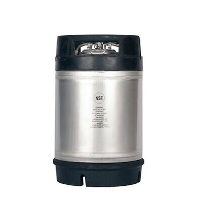 2.5 Gallon Ball Lock Keg With Dual Rubber Handle For Homebrew Beer Wine Coffee
