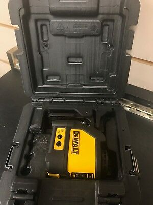 Dewalt Dw088 Self-Leveling Cross Line Laser With Case