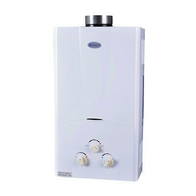 MAREY 10L Tankless Gas Water Heater 3.1 GPM LPG (Propane) 2 bath house / RV