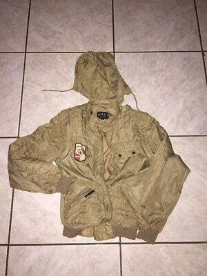 Dali Outer Wear Vintage Driving Jacket Sz Small Used Gold