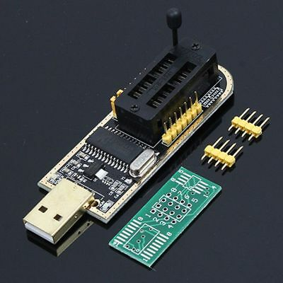 Gold 24/25 Series LCD Flash BIOS Writer CH341A EEPROM USB Programmer