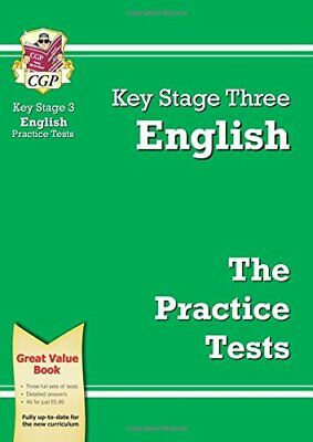 KS3 English Practice Tests (CGP KS3 Practice Papers) by CGP Books Paperback The