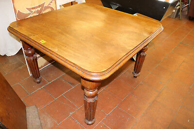 Victorian Mahogany Dining Table with Extra Leaf c.1870