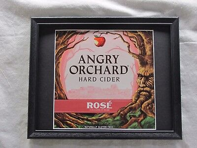 Angry Orchard Hard Cider Rose'  Beer Sign   #1391